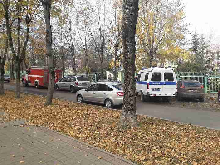 ВКалуге эвакуировали детский парк