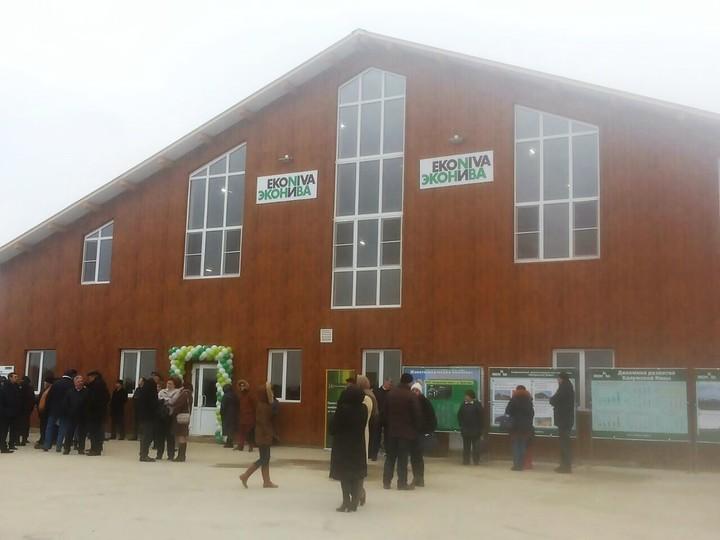 Александр Ткачев открыл высокотехнологичный животноводческий комплекс вКалужской области